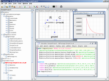 OpenModelica 1.5 RC3 and simForge