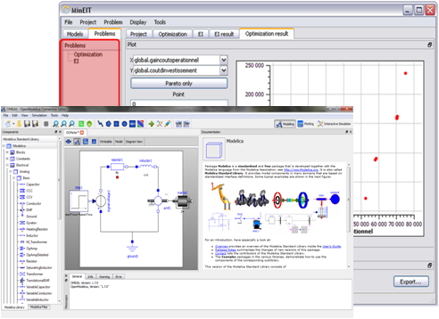 OpenModelica 1.7 - Optimization and GUI
