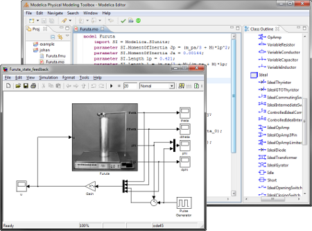 Modelica Physical Modeling Toolbox for Matlab and Simulink
