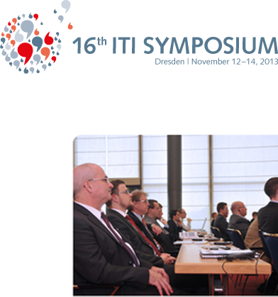 16th ITI Symposium in Dresden