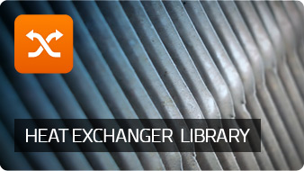 Heat Exchanger Library 1.4 - Plate heat exchangers and condensers with receivers
