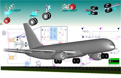 Aircraft Landing Gear Library