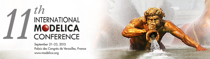 11th International Modelica Conference, Versailles, September 21-23, 2015