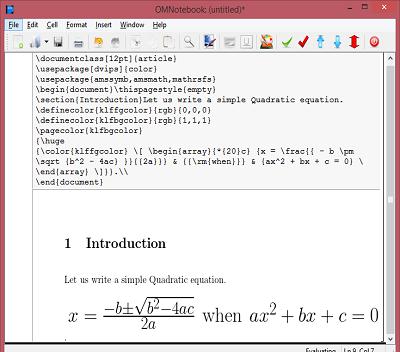 Enhanced OpenModelica Interactive Notebook